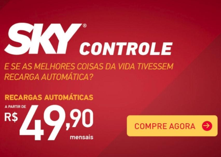 Banner promoção SKY